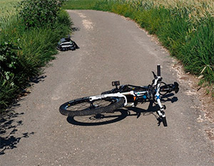 Los accidentes en bicicleta